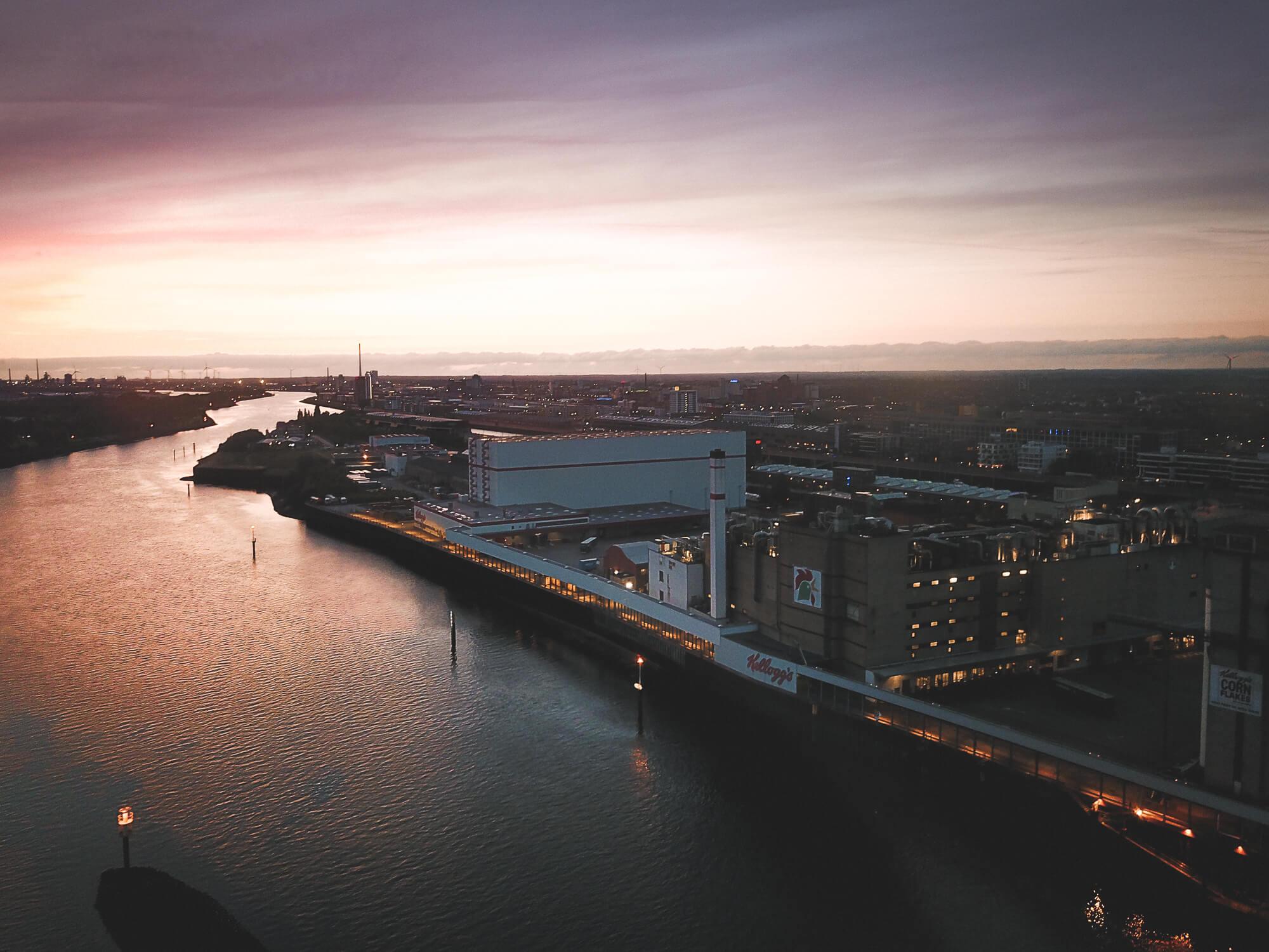 Atemberaubende </br> Luftbilder und Luftaufnahmen in Bremen und umzu